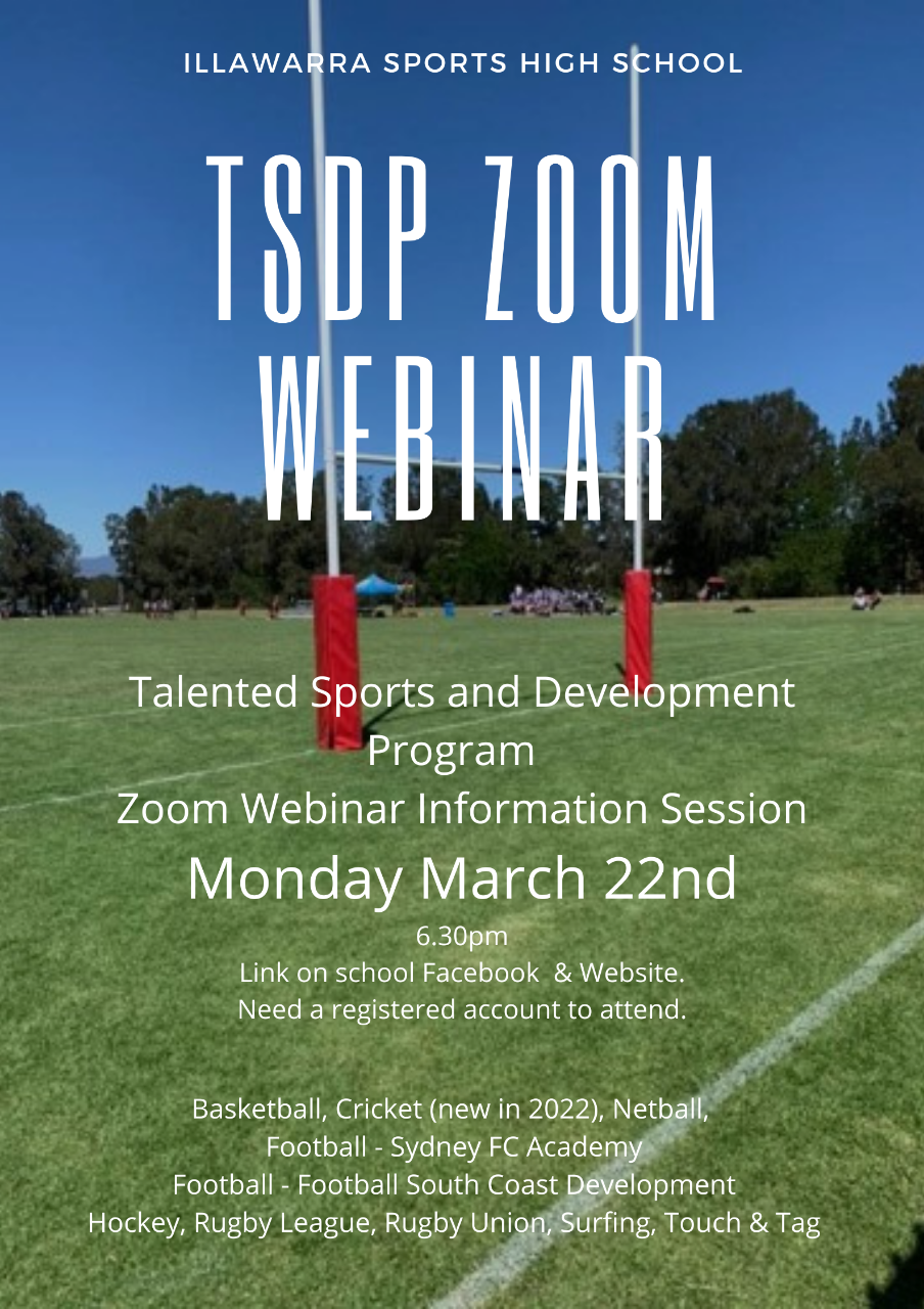 Flyer for Zoom Webinar