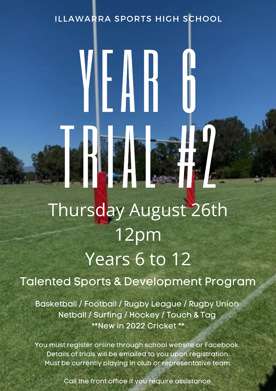 Year 6 Trials 2021